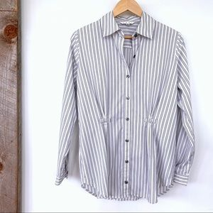 CAbi button down shirt with long sleeves